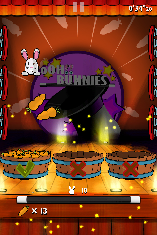 Screenshot oOH!Bunnies